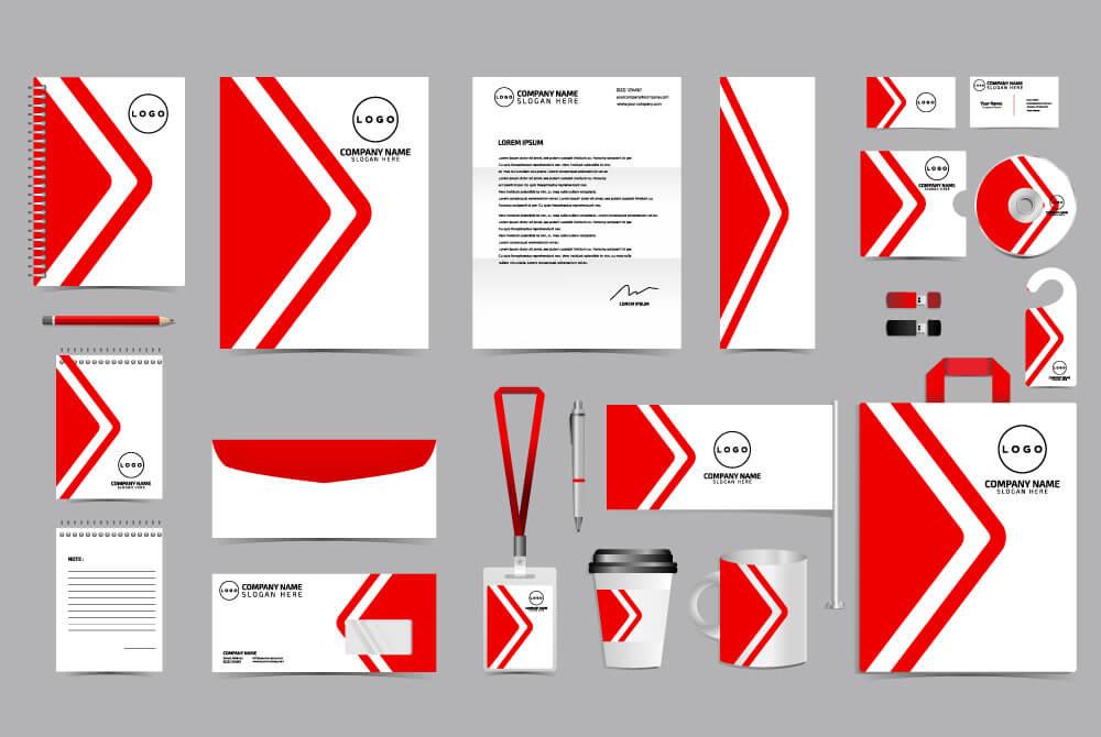 Verschiedene Drucksachen im Corporate Design - Werbung & Druck Aurich