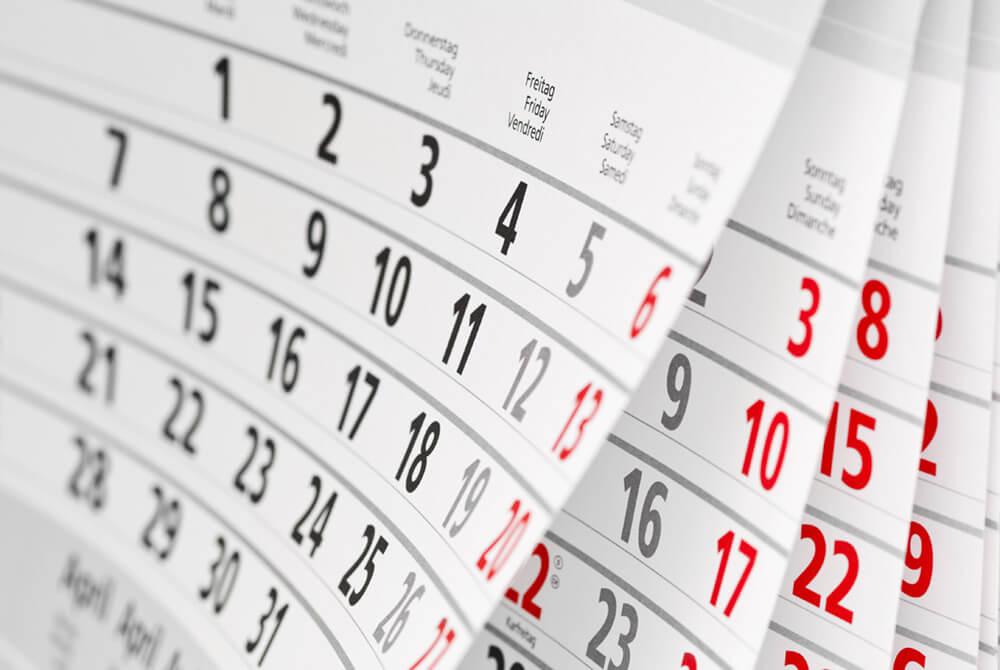 Kalenderblätter - Wandkalender - Kalender drucken in Aurich