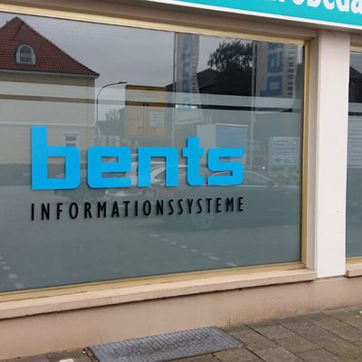 bents – Sichtschutz & Schaufensterbeschriftung
