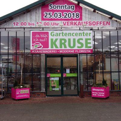 Gartencenter Kruse – Beschilderung & Banner