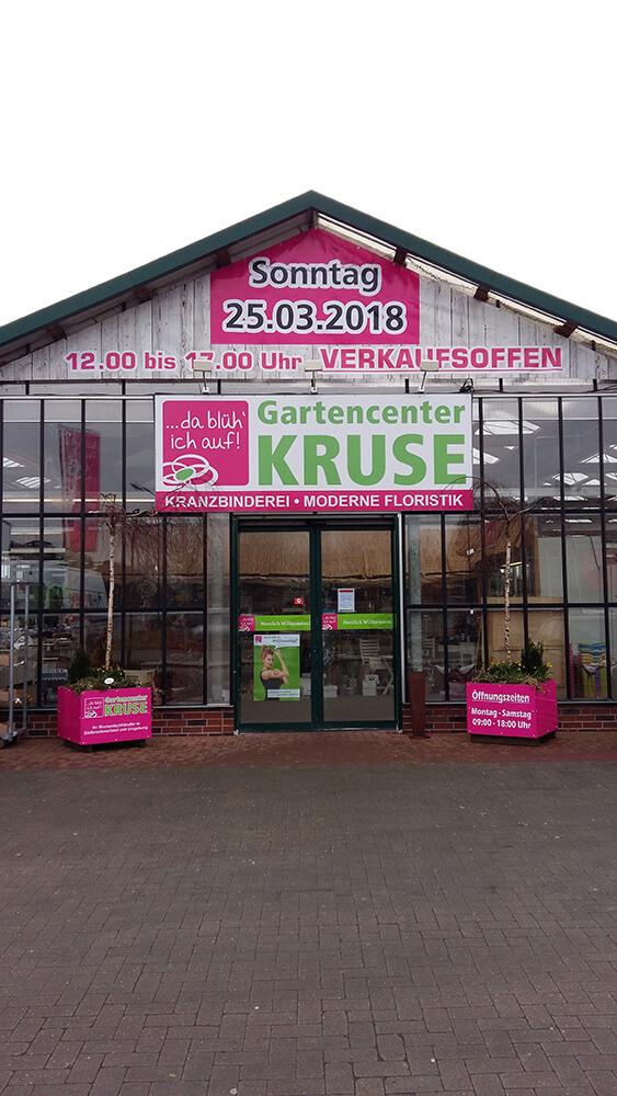 Gartencenter Kruse - Beschilderung & Banner